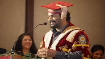 """Receiving a doctorate felt surreal…Please stop perceiving actors as idiots"" – R. Madhavan"