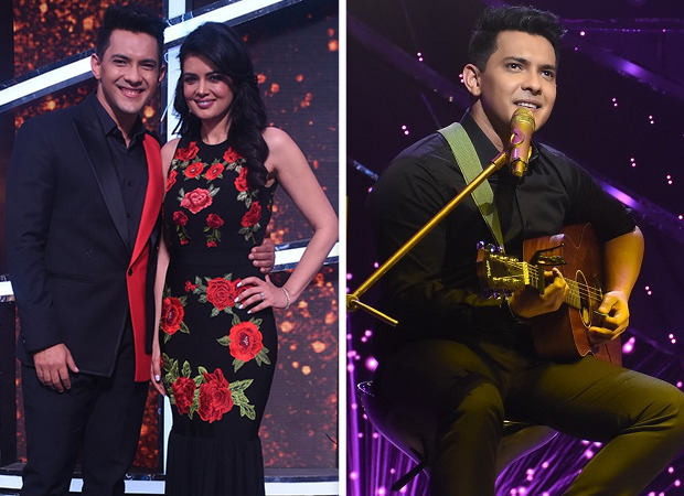 Aditya Narayan serenades wife Shweta Agarwal on the Valentine Weekend on the sets of Indian Idol Season 12