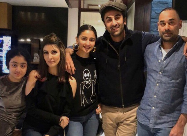 Alia Bhatt spends quality time with Ranbir Kapoor, Riddhima Kapoor Sahni and family in Delhi