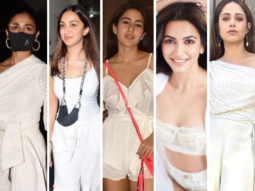 COLOUR OF THE WEEK – WHITE: Alia Bhatt, Kiara Advani, Sara Ali Khan and others made statement with minimal glam
