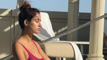 Disha Patani looks content as she enjoys the summer sun in a bikini