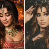 From demure dame to smokin' siren, Janhvi Kapoor ups the beauty game in 'Panghat' song from Roohi