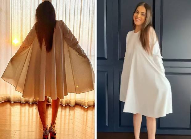 Genelia D'souza is a vision in white as he tries to beat the Monday blues