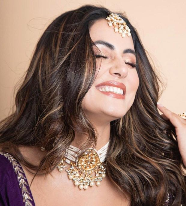 Hina Khan's purple lehenga worth Rs. 96,800 is a must-have for the wedding season wardrobe