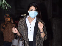 Jacqueline Fernandez spotted at salon in Juhu