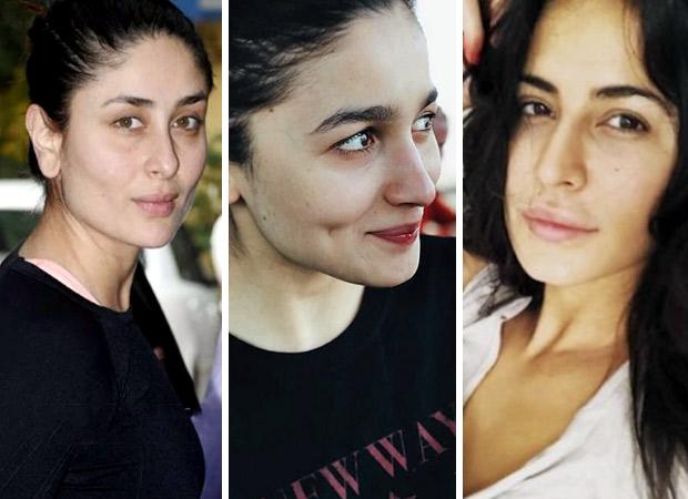 Kareena Kapoor Khan, Alia Bhatt, Katrina Kaif - All the times Bollywood actresses owned the make-up free looks