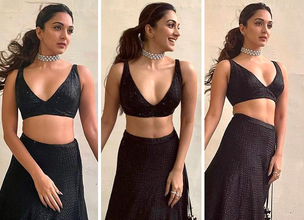 Kiara Advani is a sight to behold in a sultry black lehenga worth Rs. 2 lakhs