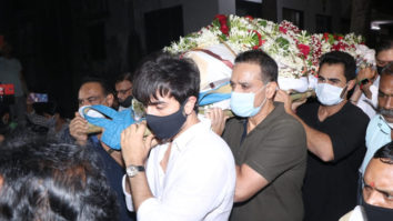 Many celebs attend Rajiv Kapoor's funeral