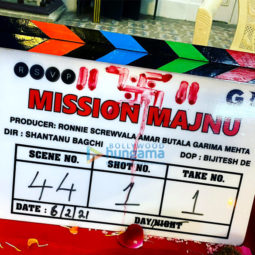On The Sets Of Movie Mission Majnu