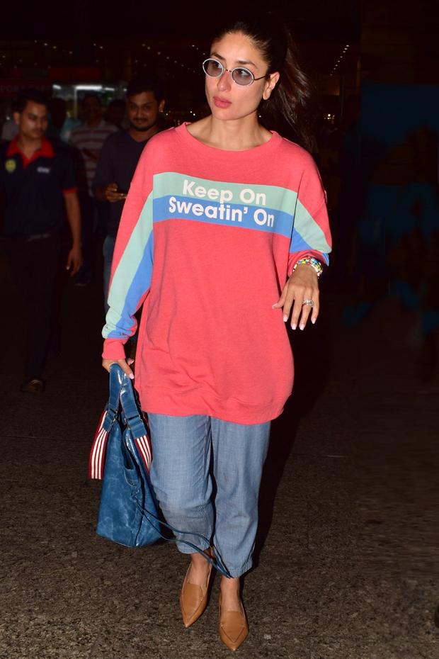 Oversized hoodie trend taking over Kareena Kapoor Khan, Anushka Sharma, Tara Sutaria, Ananya Panday's wardrobe-