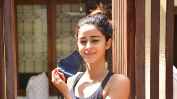 Photos: Ananya Panday spotted at Anshuka Yoga