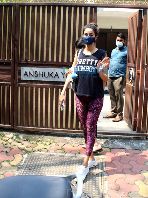 Photos: Ananya Panday spotted at Anshuka yoga