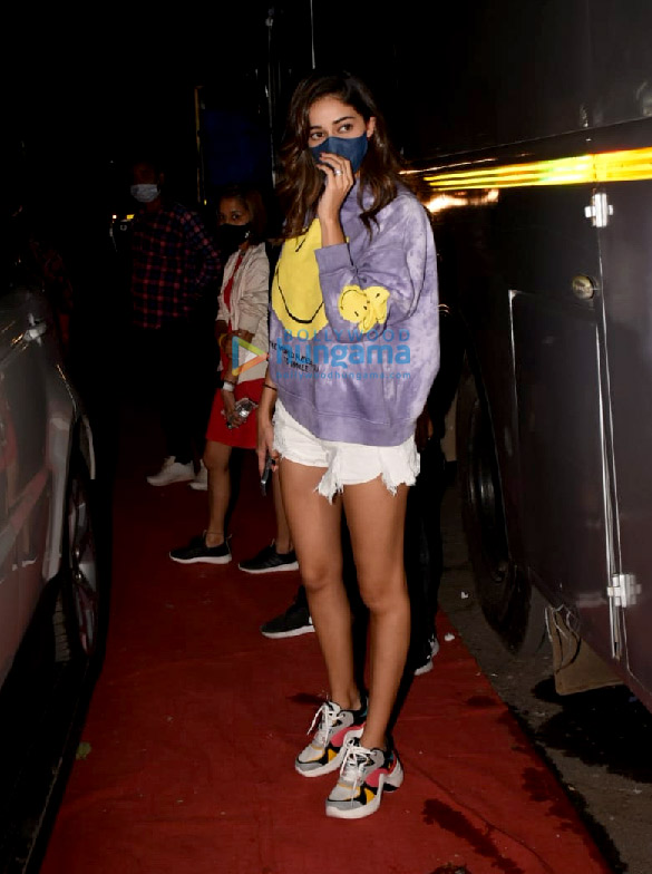 Photos Ananya Panday spotted at Film City in Goregaon (1)
