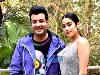 Photos: Janhvi Kapoor and Varun Sharma promote their film Roohi