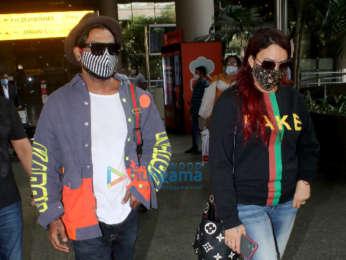 Photos: Kriti Kharbanda, Chunky Pandey, Gurmeet Choudhary and others snapped at the airport