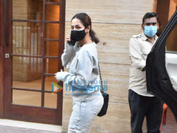 Photos: Malaika Arora spotted in Bandra