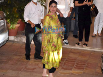 Photos: Ranbir Kapoor, Alia Bhatt, Saif Ali Khan, Kareena Kapoor Khan and others spotted at Rajiv Kapoor's house in Chembur