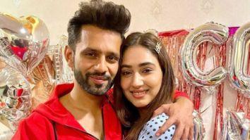 Rahul Vaidya celebrates his reunion with Disha Parmar post Bigg Boss 14