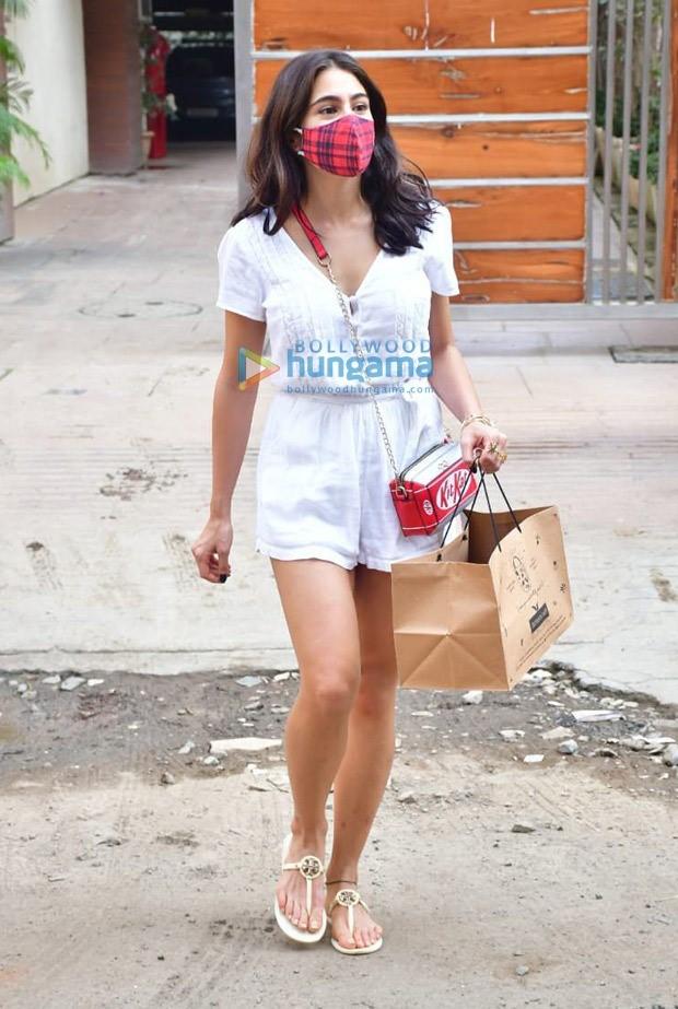Sara Ali Khan flaunts short tresses but her affordable KitKat sling grabs attention