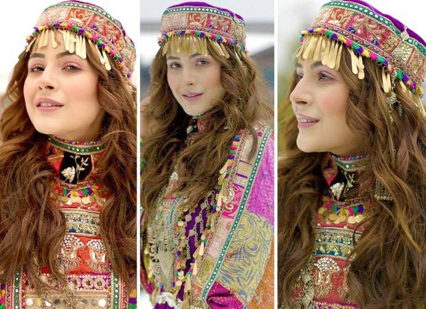 Shehnaaz Gill is Kashmir Ki Kali as she dons traditional avatar for the music video shoot with Badshah