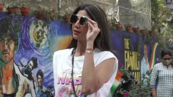 Shilpa Shetty spotted at Mukesh Chhabra's office in Andheri