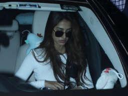 Spotted - Disha Patani & Sanjana Sanghi at Airport