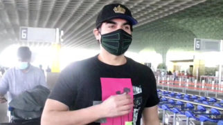 Spotted - Paras Chhabra and Arbaaz Khan at Airport