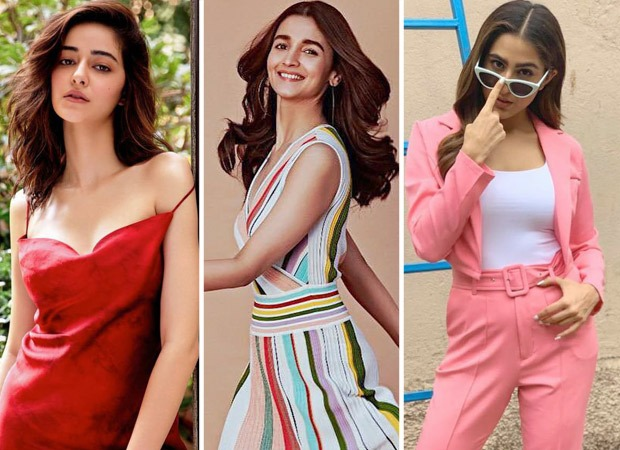 Taking style cues from Ananya Panday, Sara Ali Khan and Alia Bhatt to get vibrant outfit ideas for a romantic Valentine's Da