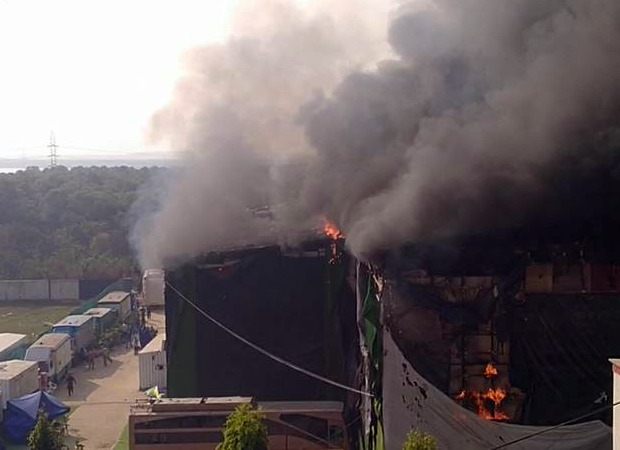 प्रभास और सैफ अली खान स्टारर आदिपुरुष के सेट पर भारी आग लग गई;  किसी के घायल होने की सूचना नहीं है