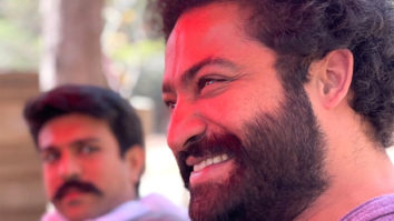 PICS: RRR stars Ram Charan and Jr NTR unwind after rigorous practice session for the climax