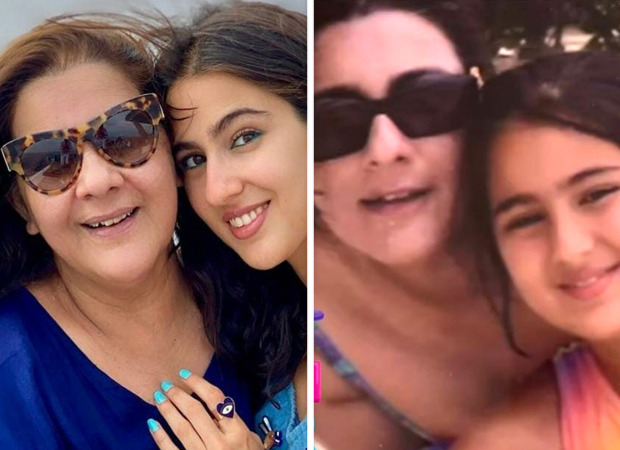 Sara Ali Khan shares childhood and unseen pictures with mother Amrita Singh on her birthday with heartfelt message