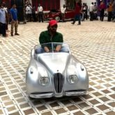 Ranveer Singh shares hilarious video of Rohit Shetty driving mini car on the sets of Cirkus
