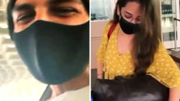 Kartik Aaryan shares a video of his sister checking in for a March flight; calls her the 'more educated sibling'