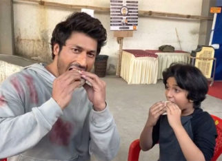 Fitness freak Vidyut Jammwal enjoys pancakes on the sets of Vipul Shah's Sanak