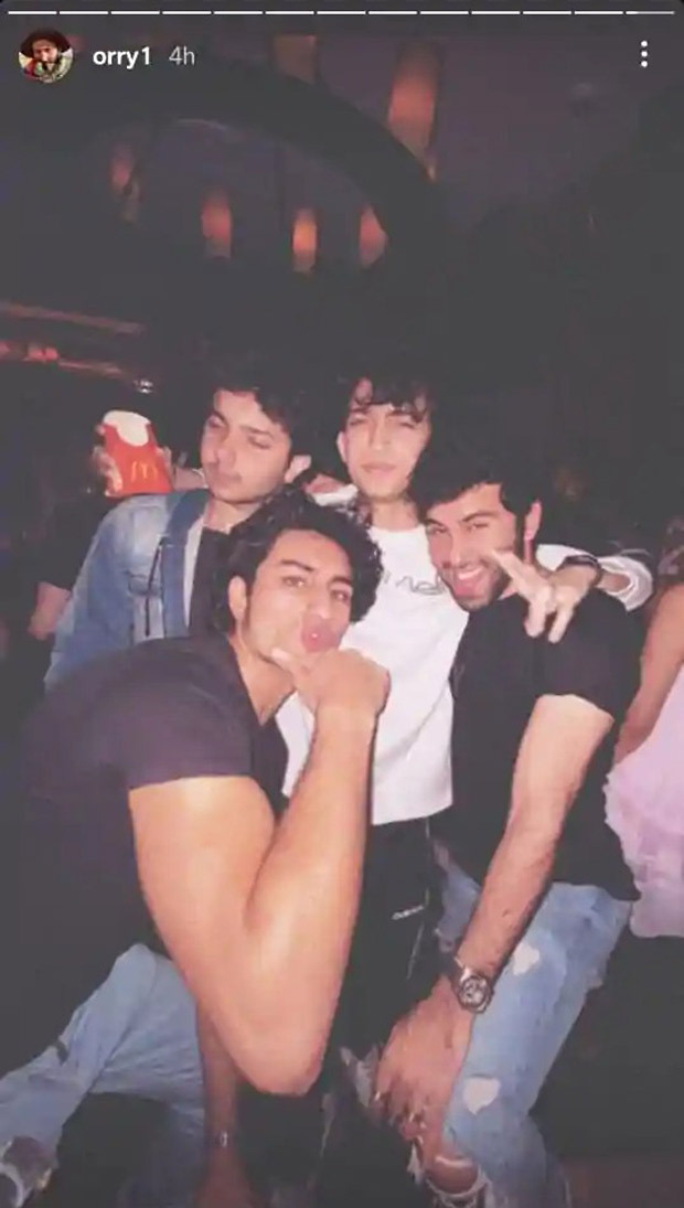 Ibrahim Ali Khan, Sohail Khan's son Nirvan Khan party with friends