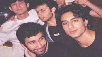 Ibrahim Ali Khan, Sohail Khan's son Nirvan Khan party with friends