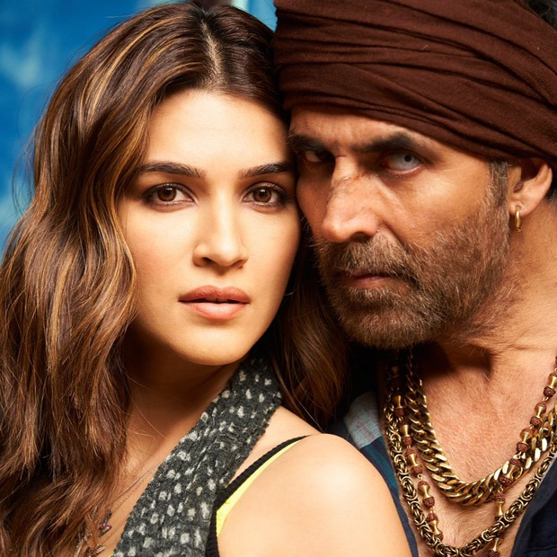Kriti Sanon unveils new look of her and Akshay Kumar from Bachchan Pandey, wraps up first schedule