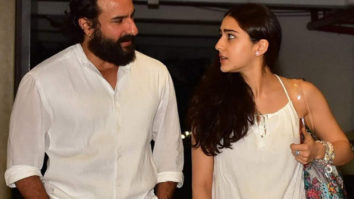 """""""We discuss Hitler and Stalin more than films and Bollywood""""- Sara Ali Khan on her bond with father Saif Ali Khan"""