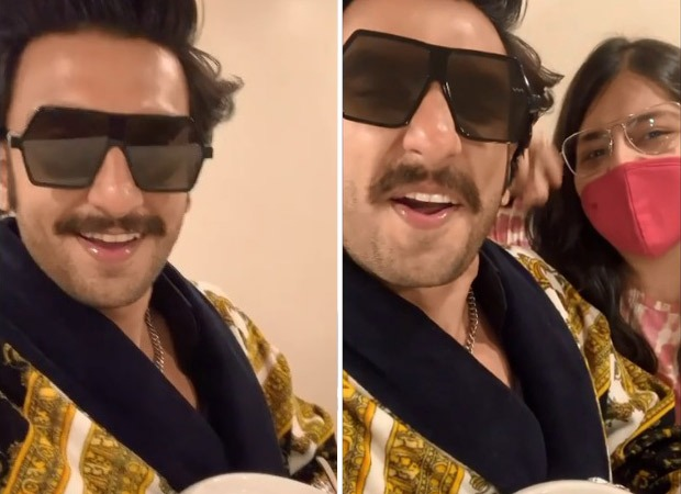 Ranveer Singh joins 'Pawri Ho Rahi Hai' trend with his fan who treated him with gajar halwa, watch video