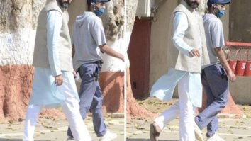 LEAKED PICTURES: Abhishek Bachchan begins shooting in Agra Central Jail for Dasvi