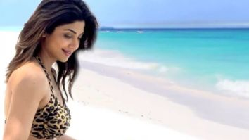 Shilpa Shetty dazzles in a leopard print bikini as she holidays in the Maldives with husband Raj Kundra