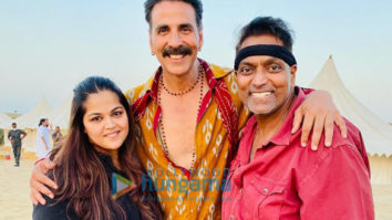 On The Sets Of The Movie Bachchan Pandey