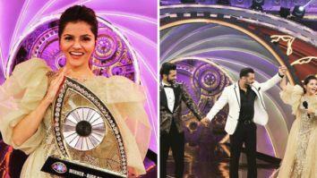 Winner Rubina Dilaik shares special moments from Bigg Boss 14 Finale