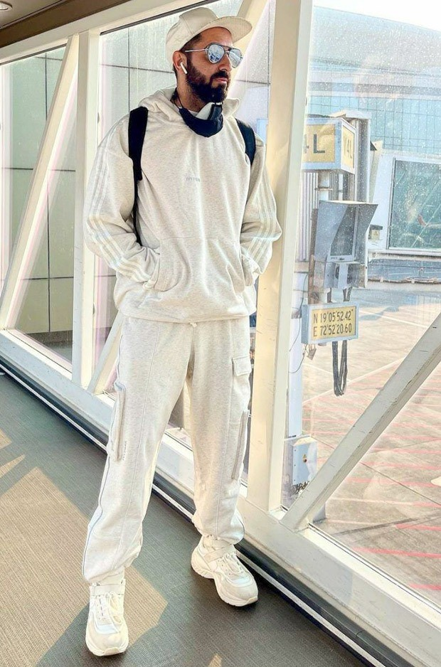 Ayushmann Khurrana steps out in Beyoncé and Adidas' latest collection ICY PARK worth Rs. 15,000 giving major athleisure goals