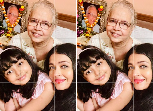 Aishwarya Rai Bachchan does a special puja on the death anniversary of her father Krishnaraj Rai, shares pictures