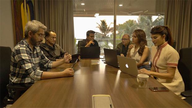 Akshay Kumar, Jacqueline Fernandez, Nushrratt Bharuccha kick off the script reading session of Ram Setu
