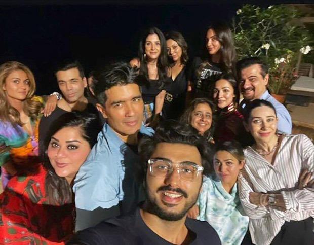 Amrita Arora's house party graced by Karan Johar, Karisma Kapoor, Arjun Kapoor, Malaika Arora and more
