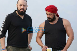 On The Sets Of The Movie Antim - The Final Truth
