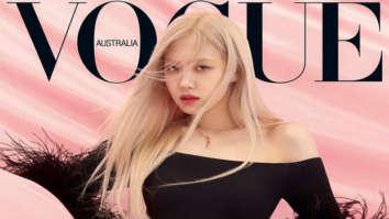 BLACKPINK's Rosé looks breathtaking on the cover of Vogue Australia in Saint Laurent jumpsuit worth Rs. 1.42 lakhs