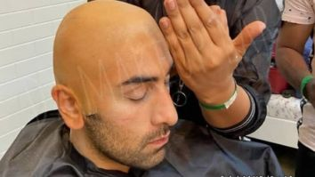 Behind The Scenes Here's how Ranbir Kapoor transformed into a nosy old man